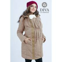 Diva Milano babahordozó kabát -25 fokig - Mokka