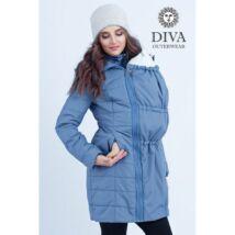 """Diva Milano babahordozó kabát -10 fokig - Kék """"Notte"""", L méret"""