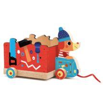 Húzható játék - Szerelő kocsi - Jo truck