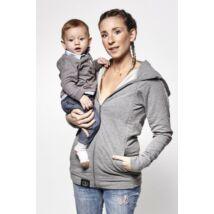 Love Radius pulóver anyának és apának – szürke, XS