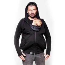 Love Radius pulóver anyának és apának – fekete, L