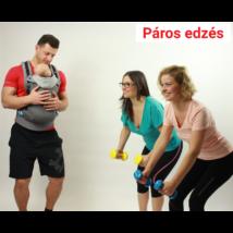 Funkcionális alakformáló páros edzés Gergővel