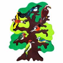 Fauna fajáték - Európai madarasfa