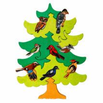 Fauna fajáték - Észak-európai madarasfa
