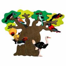 Fauna fajáték - Afrikai madarasfa