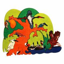 Fauna fajáték - Európai vízpartok madarai