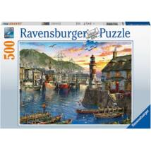 Reggeli kikötő (500 darabos puzzle)