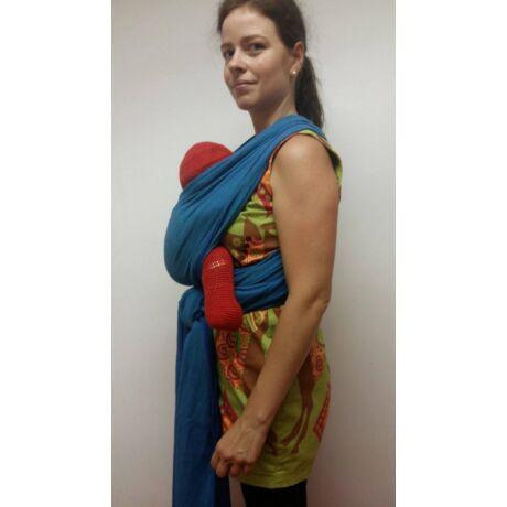 Használt Didymos hordozókendő - Lisca Azzurro (5,2 m)
