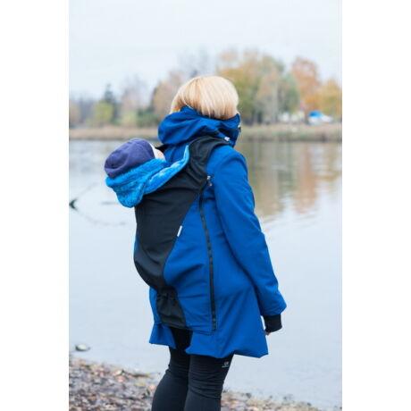 MAGYARINDA® - hordozós kabát - Szajkó: kék, fekete