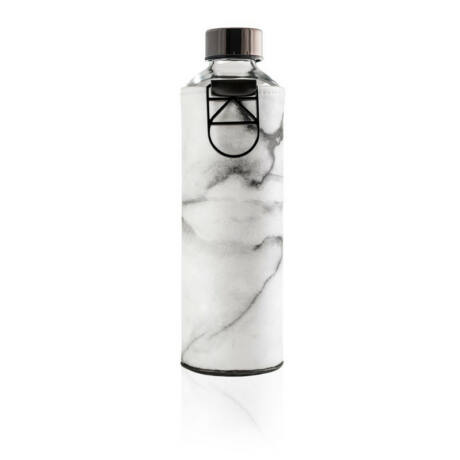 EQUA kulacs - üveg, Mismatch, 750 ml - Stone
