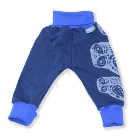 Magyarinda babanadrág, S méret - kék baglyos