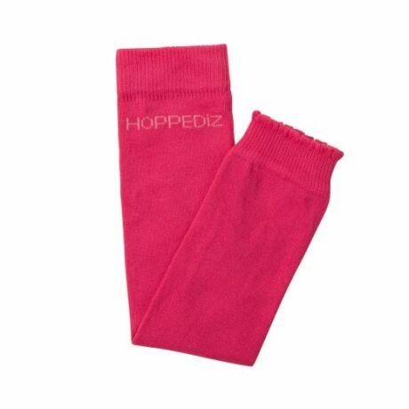 Hoppediz biopamut lábszármelegítő - egyszínű pink