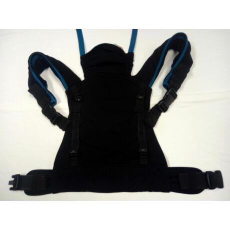 Használt Mamaruga Zensling csatos - fekete, kék csíkkal - black ocean