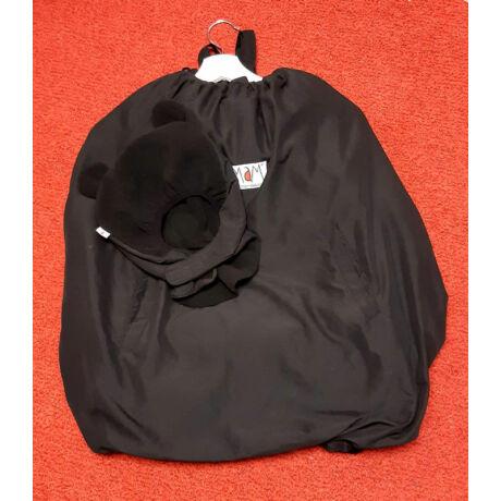 HASZNÁLT Könnyű, praktikus, vízhatlan, MaMidea hordozós babatakaró – fekete