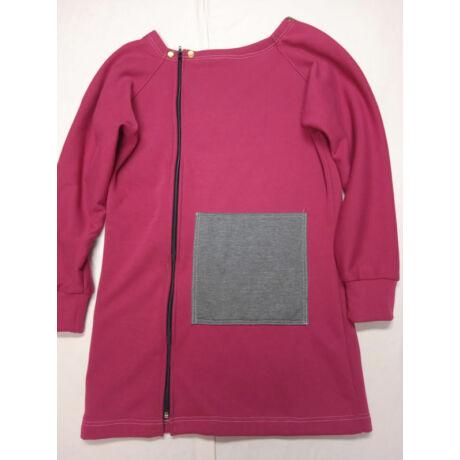 Használt Möbius hordozós pulóver - bordó-szürke, 1-es méret