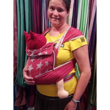 Használt Hoppediz bébi mei tai - HopTye Los Angeles, piros