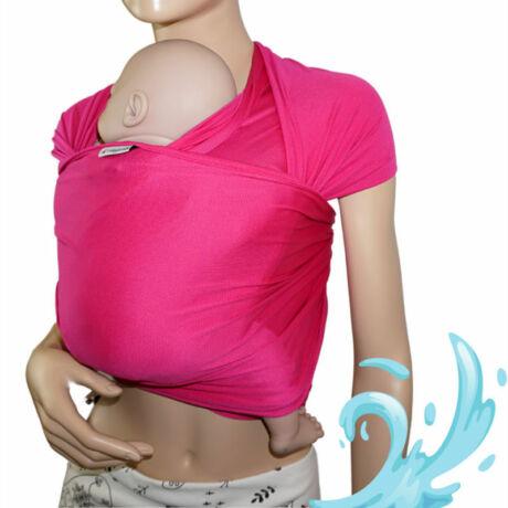 MAGYARINDA® - fürdős hordozókendő, pink