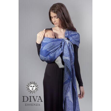 Diva Essenza karikás kendő - Azzurro