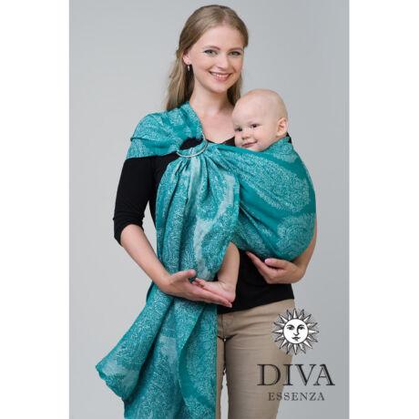 Diva Essenza karikás kendő - bambuszos, Smeraldo