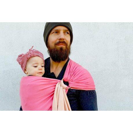 Pöti, a kis kendő csomó nélkül - rágógumi rózsaszín (PESN7577)