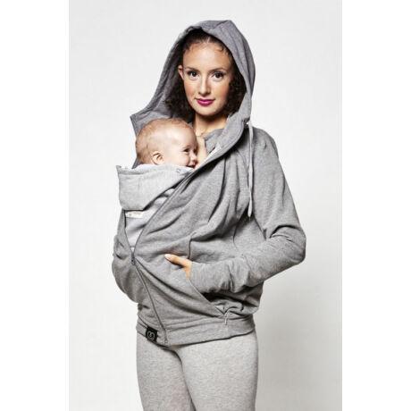 Love Radius pulóver anyának és apának – szürke, S